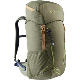 VAUDE Hidalgo 24+4 Backpack Kids, verde